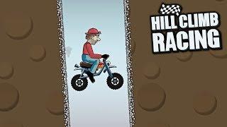 Hill Climb Racing - Mini Bike in Cave 2882m - GamePlay