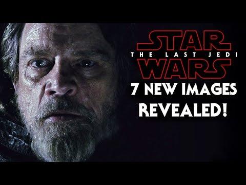 Star Wars The Last Jedi 7 NEW images Revealed! Luke, DJ & More!