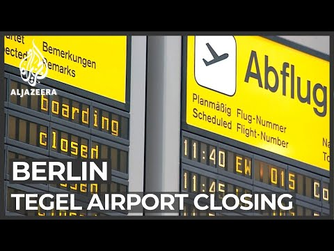 Berlin Tegel airport to be redeveloped into technology park