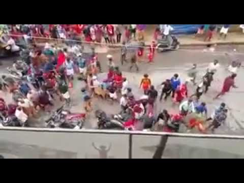 Brutal Attack on BJP/RSS in Kerla by CPIM Caught on Camera