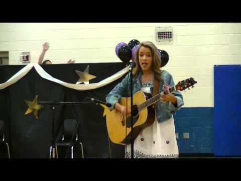 """Emily Roberts """"All Your Life"""" cover at the talent show"""