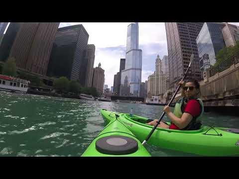 Chicago River Kayaking Downtown