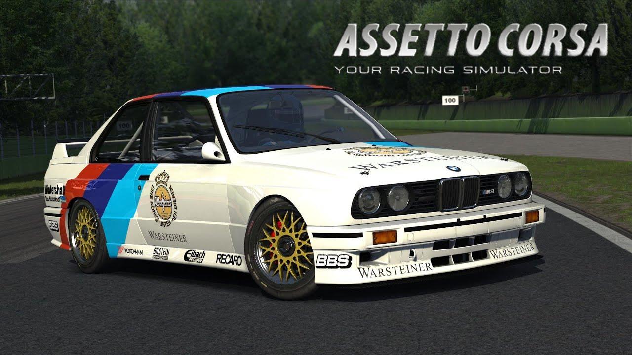 Assetto Corsa Bmw M3 E30 Group A Imola Hd Youtube