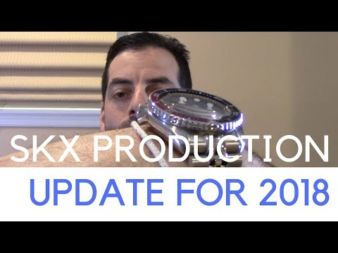 New Seiko SKX007 & 009 Sapphire Crystal Upgrade w/ Strapcode Bracelet - 2018 Production Update