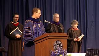 2018: Notre Dame Law School Hooding and Conferring of Degrees