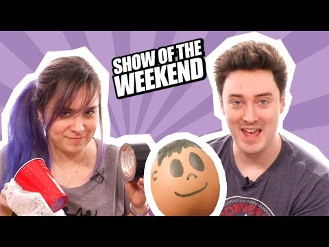 Show of the Weekend: Tetris Battle Royale, Anthem and Ellen's Egg-Drop Challenge
