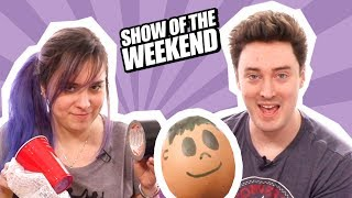 Show of the Weekend: Tetris Battle Royale, Anthem and Ellen's Egg-Drop Challenge