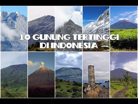 48+ Gunung Tertinggi Di Indonesia Adalah Pics