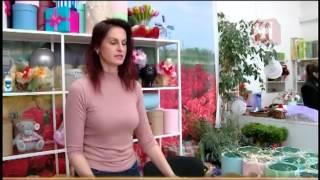 видео 8 МАРТА - цветы с доставкой, доставка букета из тюльпанов, подарки к 8 марта для женщин Екатеринбург