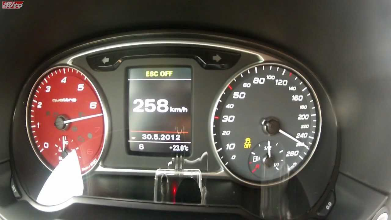 Audi A1 Quattro 0-259 km/h Gravel Tarmac Acceleration Top Speed Test sport auto Christian ...