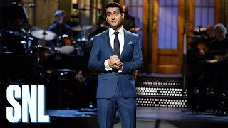 Video Kumail Nanjiani Standup Monologue - SNL download MP3, 3GP, MP4, WEBM, AVI, FLV Juni 2018