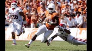 Foreman, a top running back prospect for the 2017 NFL Draft, has th...
