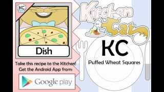 Puffed Wheat Squares - Kitchen Cat