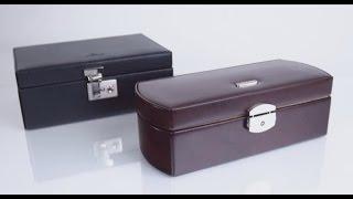 Обзор шкатулок для хранения часов Windrose, модели Classico и Beluga