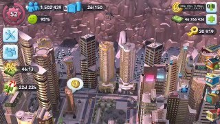 SimCity Buildit London update on Nvidia Shield Android TV gameplay
