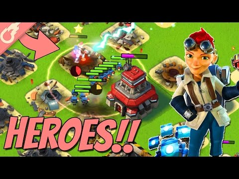 New Boom Beach Heroes in Battle! (Sneak Peek Gameplay)
