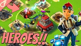 New Boom Beach Heroes in Battle! (Sneak Peek Gameplay)