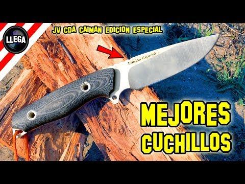 EL MEJOR CUCHILLO - JV CDA CAIMAN EDICION ESPECIAL de CUCHILLERIA DEPORTIVA