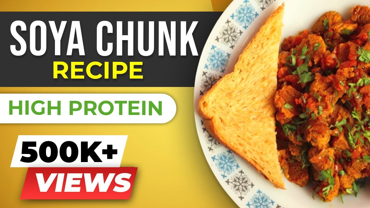 Soya bhurji soya chunks recipe healthy and easy indian youtube premium forumfinder Gallery