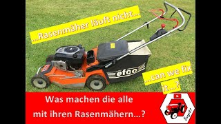 Rasenmäher springt nicht an | Briggs & Stratton 750 Series | OleoMac Lux 55 | can we fix it?