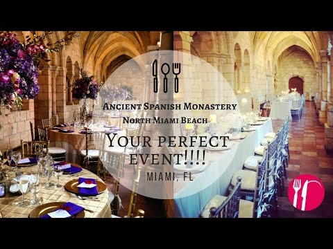 Ancient Spanish Monastery  💞 | 🔥 Catering South Florida
