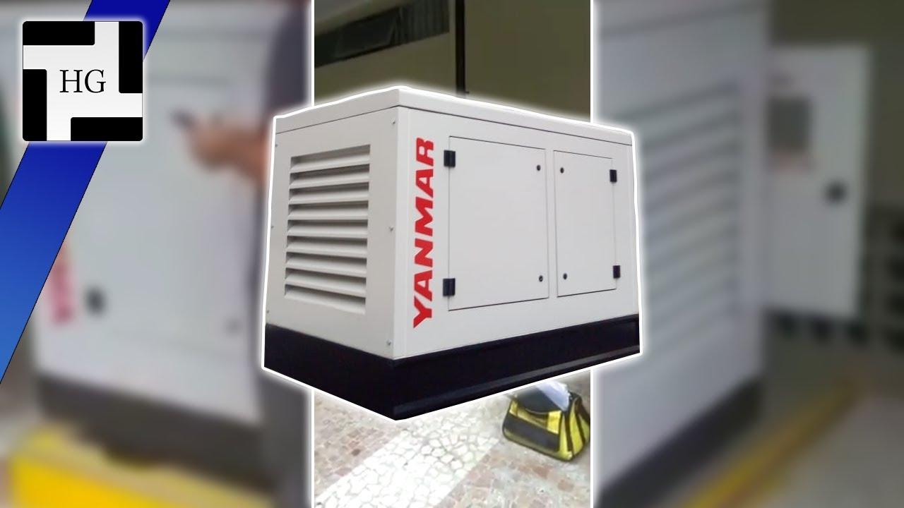 Vídeo: Instalação de gerador Yanmar 40KVA em São Paulo