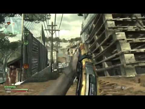 Modern Warfare 3: Model 1887 (62-8) Damage Proficiency FTW