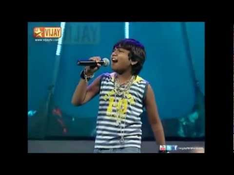 Aajeeth Super Singer  Junior 3 wild card  Performance 2