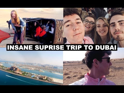 INSANE SURPRISE TRIP TO DUBAI (FOUND OUT AT AIRPORT)