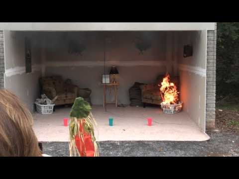 Flashover with no accelerant - National Fire Academy / Cause & Origin