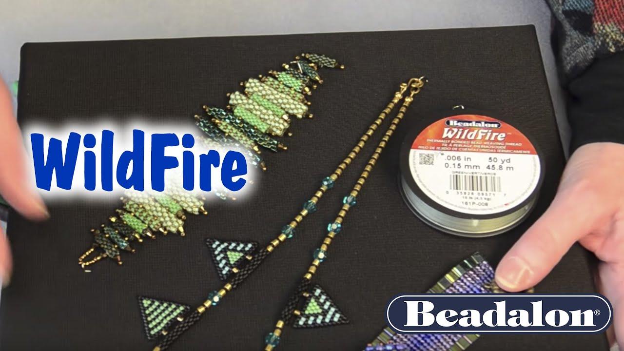 grey 45 m red Beadalon Wildfire 0,15 mm blue