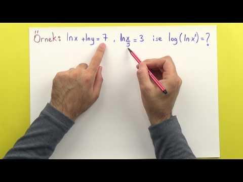 LOGARİTMA3 - YENİ Şenol Hoca Matematik