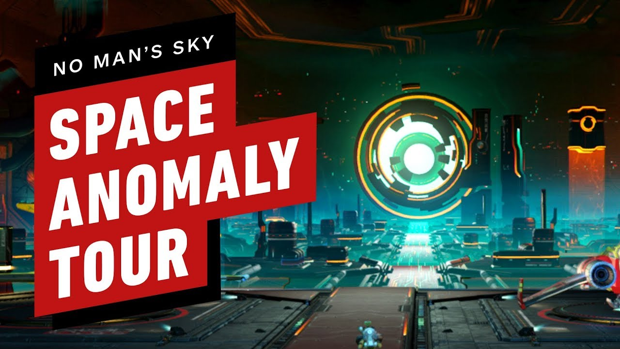No Man's Sky Beyond - Tour of the Space Anomaly (Nexus) on