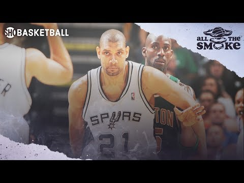 Kevin Garnett picks a seemingly unlikely candidate when asked to describe players whose trash talk he respected the most: Tim Duncan