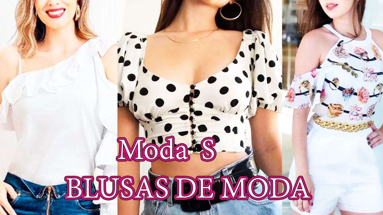 Modelos de blusas modernas 2019