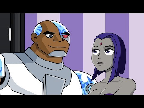 Cartoon HookUps: Cyborg and Raven