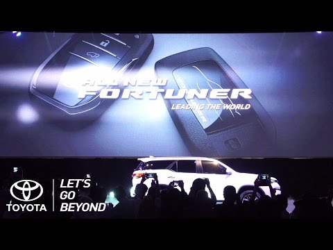 All New Fortuner Press Conference