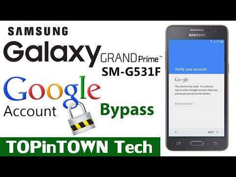 Samsung GALAXY📱 SM-G531F Google Account Bypass FRP lock by 📱TOP in TOWN📱