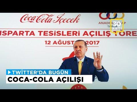 Erdoğan'ın Coca-Cola fabrikası açması gündeme damgasını vurdu | Twitter'da Bugün
