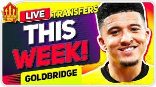 SANCHO DEAL THIS WEEK! Man Utd Transfer News
