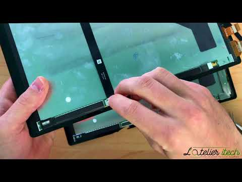 TUTO : Remplacement Vitre tacile + LCD surface pro 4