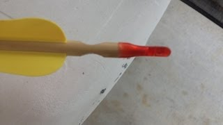 how to make archery speed shooting arrow