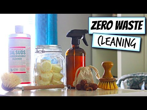 Zero Waste, Green, and Eco-Friendly Household Cleaners