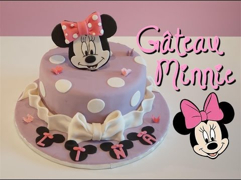 gâteau-minnie-pâte-à-sucre-|-minnie-cake-|-cake-design
