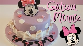 Gâteau Minnie pâte à sucre | Minnie Cake | Cake design