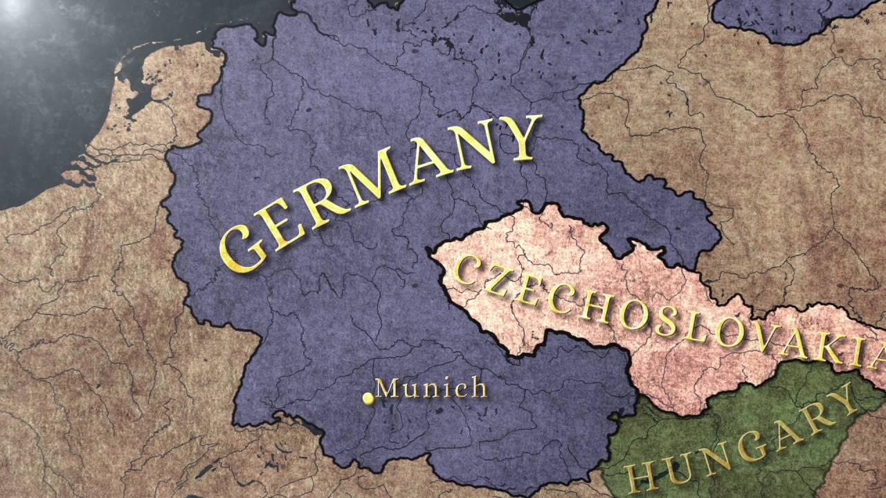 Munich Agreement 1938 Youtube
