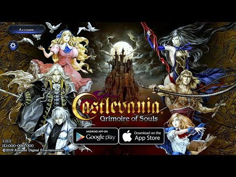 Castlevania Grimoire Of Souls - By KONAMI Gameplay (Android/IOS)