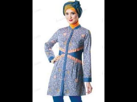 Model Baju Batik Guru Wanita Masa Kini Youtube