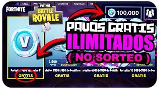 COMMENT OBTENIR GRATUITEMENT PAVOS ILLIMITÉ À FORTNITE! (NO SWEEPSTAKE) (LÉGAL) Fortnite Bataille Royale