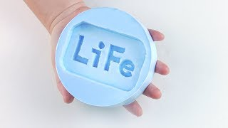 【LiFe生活化學】RTV 矽橡膠 (矽膠) 翻模 教學影片 (高畫質)